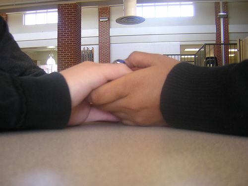 Friends Holding Hands