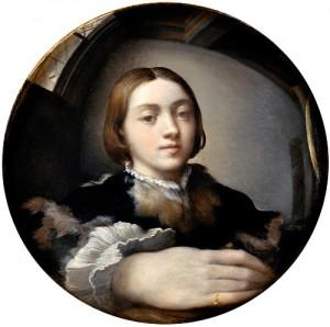 Parmigianino - Self-Portrait in a Convex Mirror