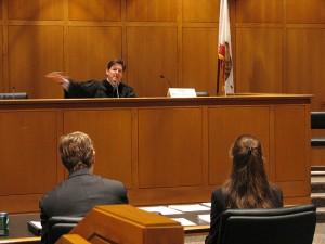 Judge at Bench