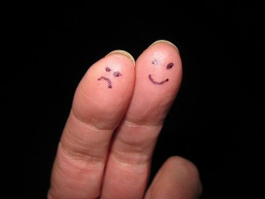 Sad and Happy Fingers