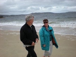 Conversation on the Beach