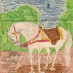 First Ever Doodle, Age 4 or 5, by Shele Katryna Cox