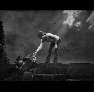 """Helper"" by Hartwig Kopp-Delaney"