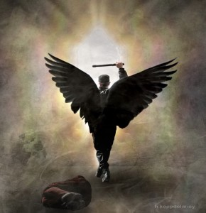 """Dark Force Angel"" by Hartwig Kopp-Delaney"